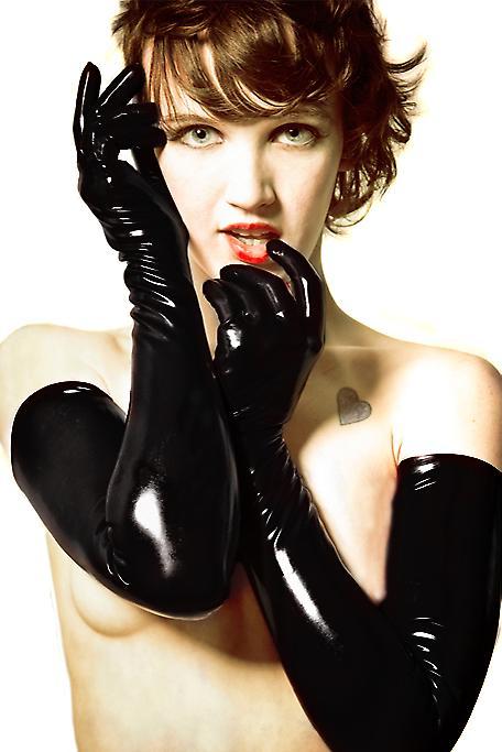 Waooh 69 - Long Vinyl Gloves Style Zoa