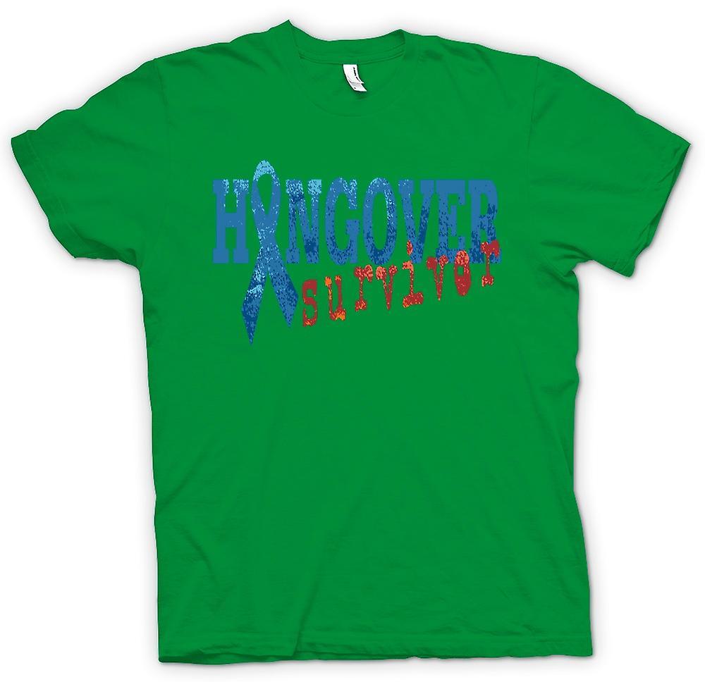 Mens T-shirt - Kater Survivor - lustig