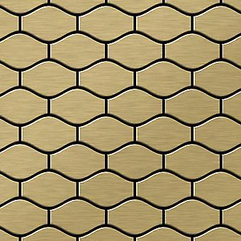 Metal mosaic Titanium ALLOY Karma-Ti-GB