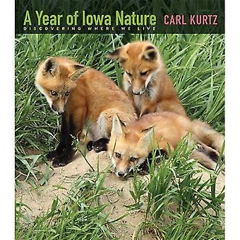 Ett år av Iowa karaktär: att upptäcka där vi bor (Bur ek böcker)