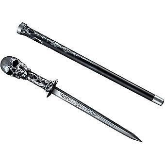 頭蓋骨杖剣