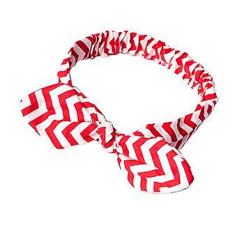 Sztandar czerwony & biały Headband Laura
