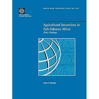 Incentivos agrícolas na África Subsaariana desafios políticos por Townsend & Robert Frederick