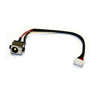Asus X450JF Compatible Laptop DC Jack Socket With Cable