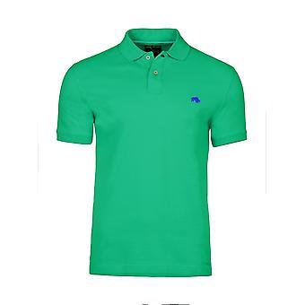 Slim Fit Plain Polo - Green