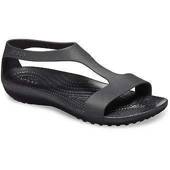 Crocs Womens Serena flexibele lichtgewicht Slip op sandalen