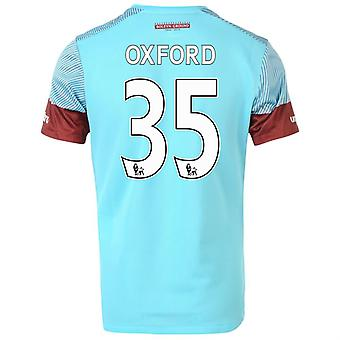 2015-16 West Ham Away Shirt (Oxford 35) - Kids