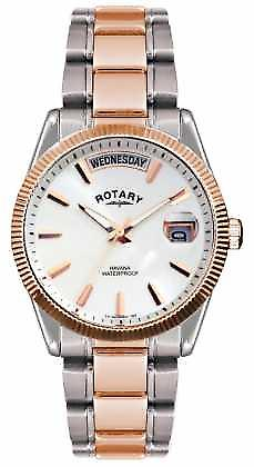 Rotary Gent's Two Tone Stainless Steel Bracelet  Havana GB02662/06 Watch