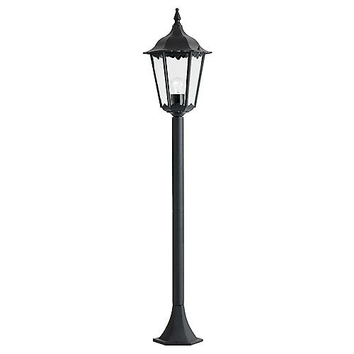 Endon YG-3008 Traditional Black Aluminium Outdoor 6-Sided Small Post