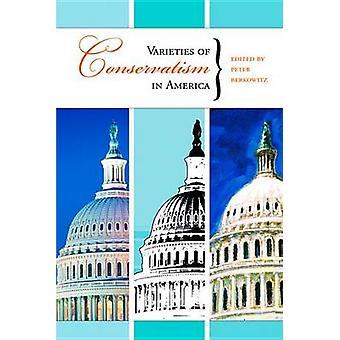Varieties of Conservatism in America by Peter Berkowitz - 97808179457