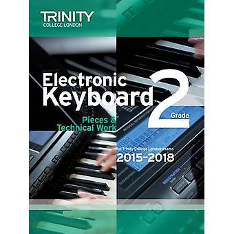 Electronic Keyboard 2015-2018 - Grade 2  - 9780857363732 Book