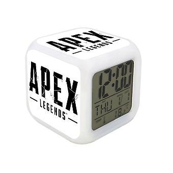 Digital Väckarklocka - Apex Legends, White Logotype