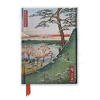 Hiroshige Meguro Foiled Journal