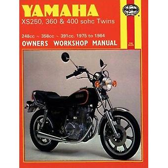 Yamaha XS250 - 360 and 400 Twins 1975-84 Owner's Workshop Manual by M