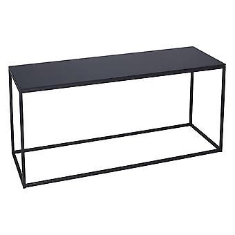 Gillmore Space Black Glass e Black Metal Contemporary TV Stand