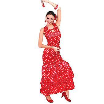 Womens espagnole Flamenco déguisement