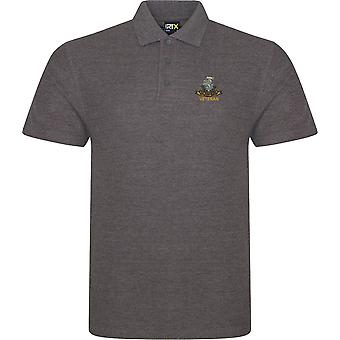 Duke Of Wellington Regiment Veteran - Licensed British Army Embroidered RTX Polo