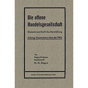 Die offene Handelsgesellschaft OHG por Megow & Heinrich