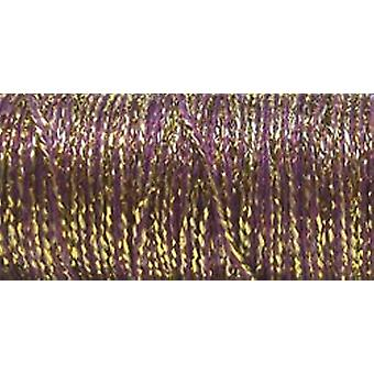 Kreinik Metallic Wandbehang Braid #12 10 Meter 11 Yards Golden Cabernet T 5845