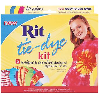 Rit Tie Dye Kit Red, Blue, Yellow 83867