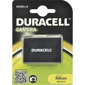 Camera rechargeable battery Duracell replaces original battery EN-EL14 7.4 V 950 mAh