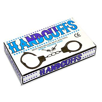 Handcuffs with Key Metal Hen Night Stag Night Accessories