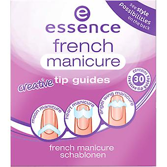 Essence French Manicure guida 02 (Donna , Make up , Unghie , Kits manicure francese)