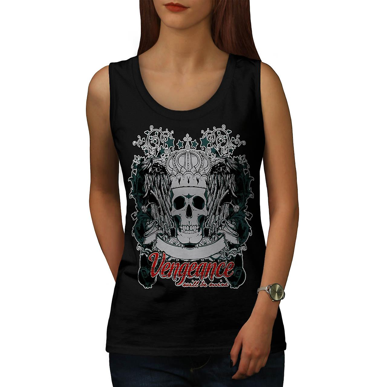 Vengeance Revenge Eye Thrones Women Black Tank Top | Wellcoda