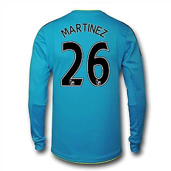 2016-17 Arsenal Away Goalkeeper Shirt (Martinez 26)