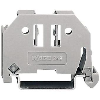 WAGO 249-117 Wago Screwless End Bracket Compatible with: 35 mm mounting rail
