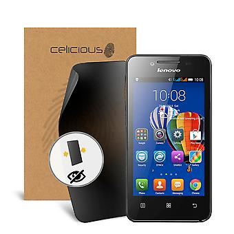 Celicious Privacy Lenovo A319 2-Way Visual Black Out Screen Protector