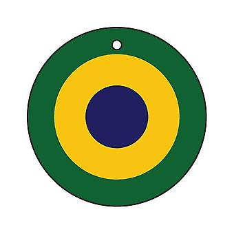 Brazilian Air Force Roundel Car Air Freshener