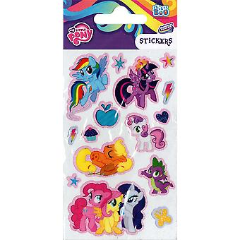 3 x Quality Sticker Sheets | MY LITTLE PONY RAINBOW POWER | Party Bags & Decoration