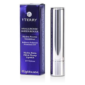 By Terry Hyaluronic Sheer Rouge Hydra Balm Fill & Plump Lipstick (UV Defense) - # 6 Party Girl - 3g/0.1oz