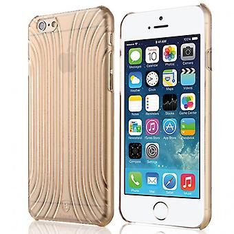Original Baseus cross style Hardcase gold for Apple iPhone 6 4.7