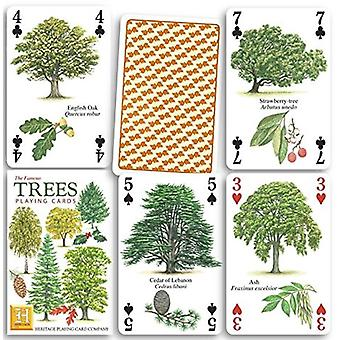 Trees set of 52 playing cards (+ jokers)    (hpc)