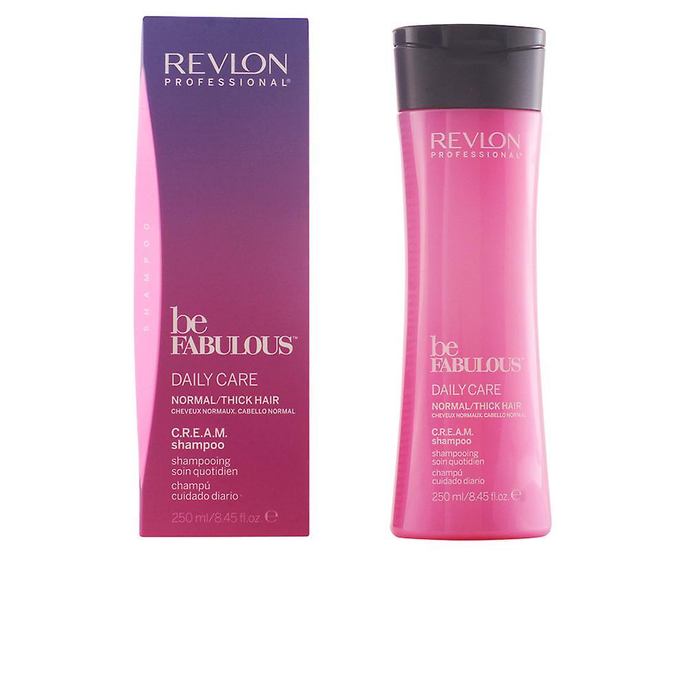 Revlon Quotidien Shampoing Ml Fabuleux Être Normale Unisexe Soins Crème 250 j3ARq54L
