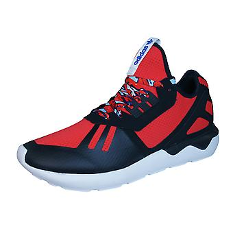 adidas Original Tubular Runner Mens Trainers / Shoes - Red and Black