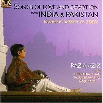 Razia Aziz - Songs of Love & Devotion From India & [CD] USA import