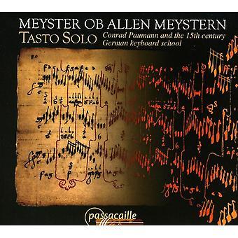Tasto Solo - Meyster Ob Allen Meystern [CD] USA import