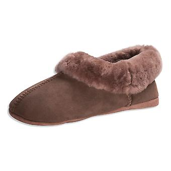 Nordvek Premium Ladies Genuine Sheepskin Slippers Soft Sole Womens 460-100