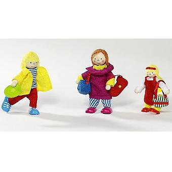Goki Flexible puppets, holiday family