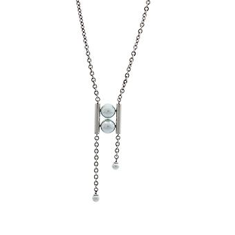 Misaki ladies necklace stainless steel MARINE QCRPMARINE