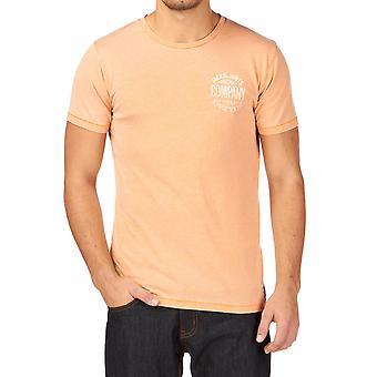 Jack and Jones Burn Tee O-Neck Yellow T-Shirt
