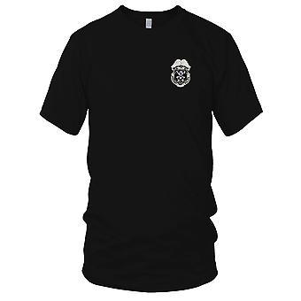 US Armee - Armee-K-9 Militär Polizei Abzeichen gestickt Patch - Herren-T-Shirt