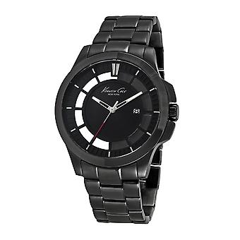 Kenneth Cole New York mannen pols horloge analoog kwarts roestvrijstaal 10027462