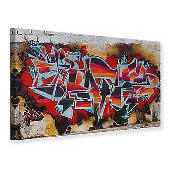 Canvas Print New York Graffiti