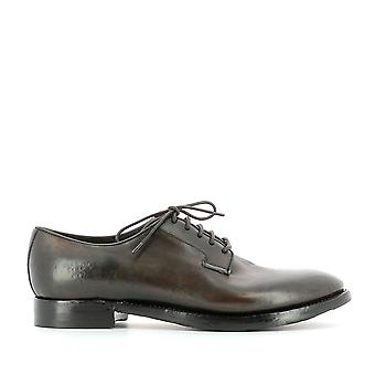 Silvano Sassetti men's 92261005101071 brown leather lace-up shoes