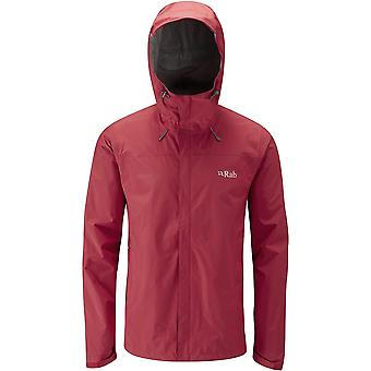 Rab Mens Downpour Jacket Ricochet (Medium)