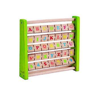EverEarth - Wooden Flip Alphabet Blocks
